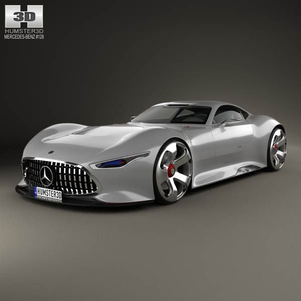 Jaguar F Type 400 Sport Coupe 2017 By Humster3d: 3D Model Of Mercedes-Benz AMG Vision Gran Turismo 2013