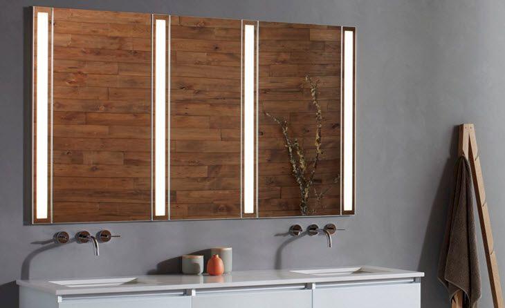 Robern LED Wide Bathroom Mirror