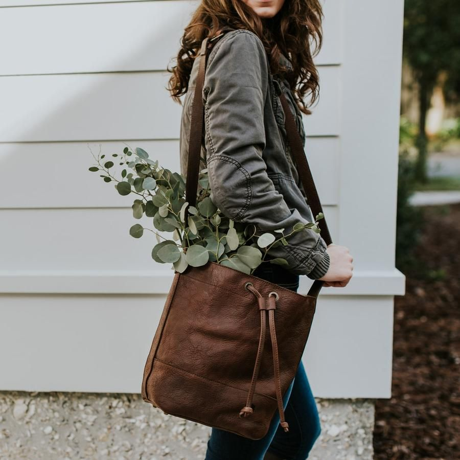 cee68f048a Madison Leather Bucket Bag | Saddle Tan in 2019 | Purses | Bucket ...