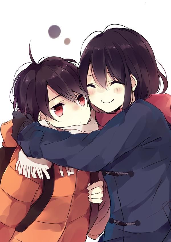 """""""Kaizuka Inaho"""" """"Kaizuka Yuki"""" Brother and Sister"""