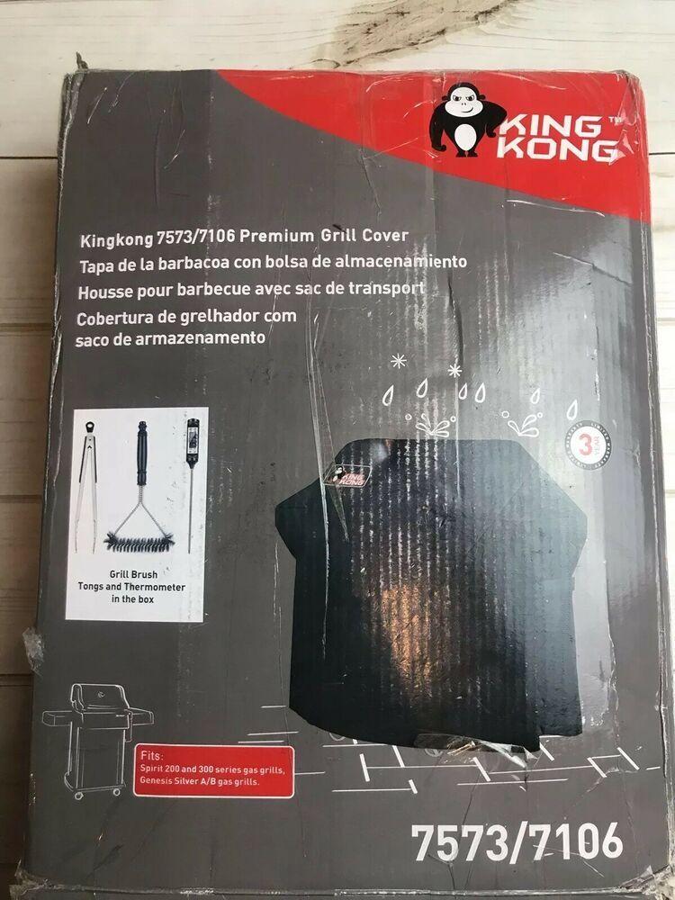 Kingkong Grill Cover 7106 Cover For Weber Spirit 200 And 300 Series Gas Grill Ebay Grill Cover Gas Grill King Kong