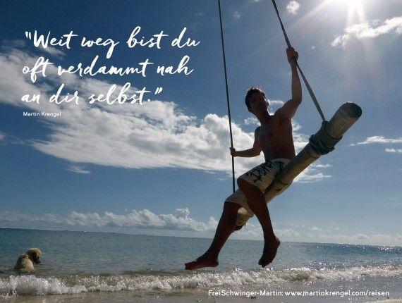 Gute Sprüche und Lebensweisheiten - Zitate übers Reisen ...