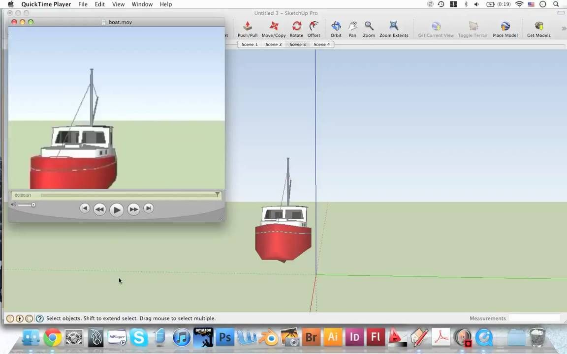 Animating Objects In Sketchup Tutorials For Landscape Architects