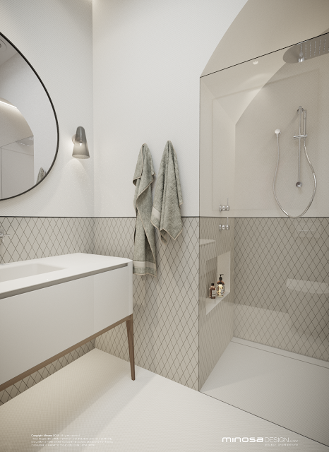 Minosa Design: Classic Modern Bathroom By Minosa · Kitchens And ...