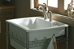 Beau   This Is Our Exact Utility Sink (by Latitude)  But It