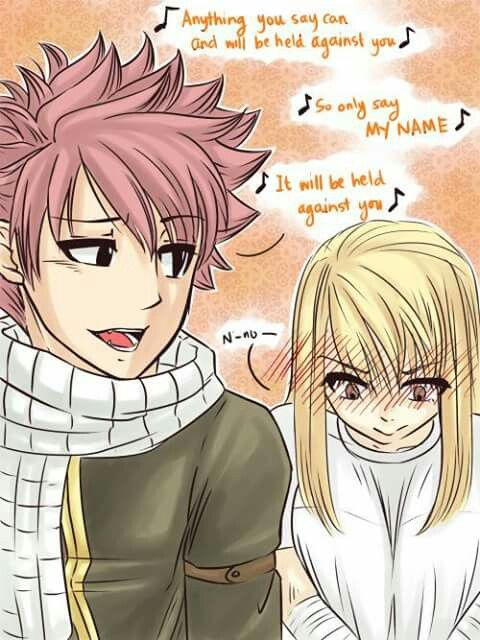 Fairy Tail Natsu And Lucy Nalu With Images Fairy Tail
