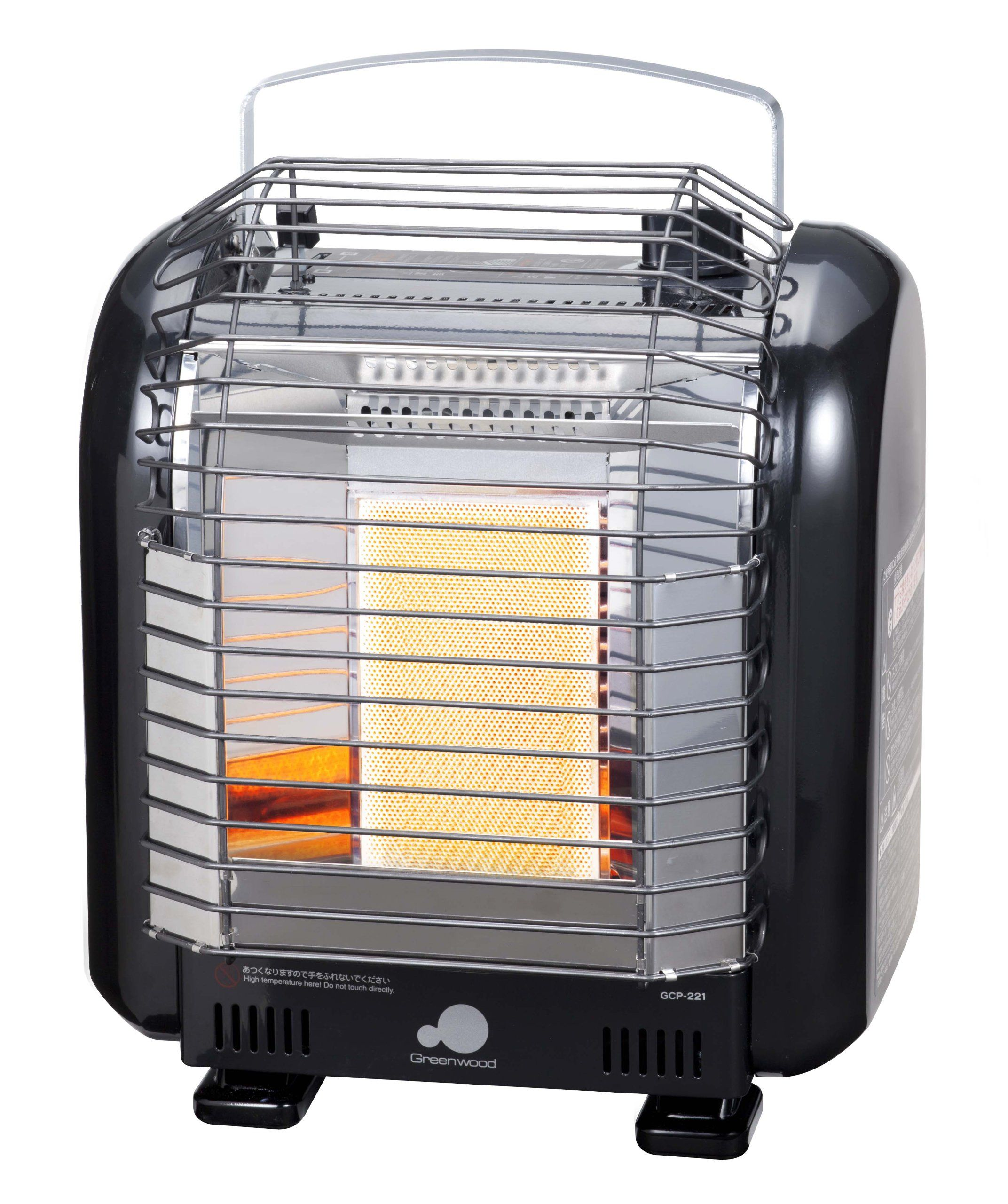 Greenwood Cassette Cylinder Type Portable Heater Indoor Use Gcp221 Black Read More At The Image Link This Is An Affiliat Portable Heater Heater Greenwood
