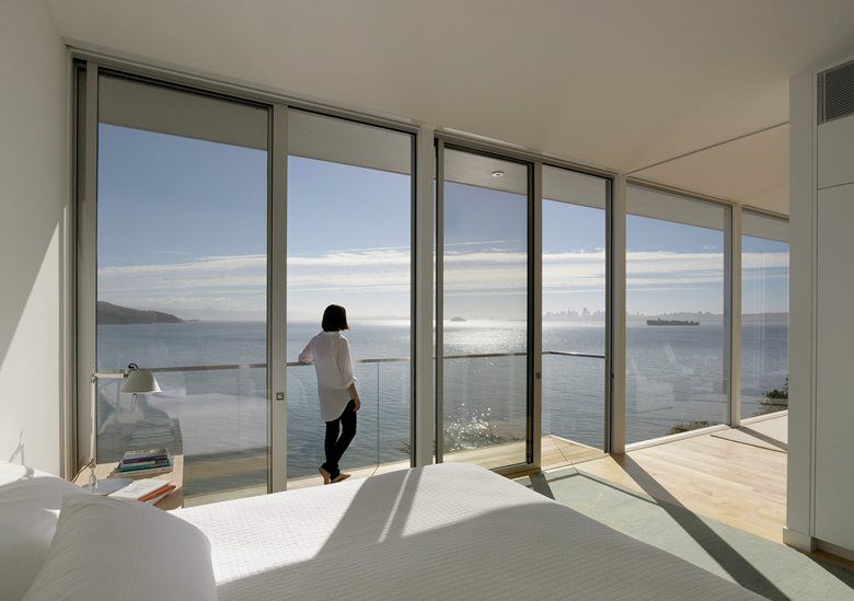 Sausalito Hillside Remodel, Sausalito, 2013 - Turnbull Griffin Haesloop Architects