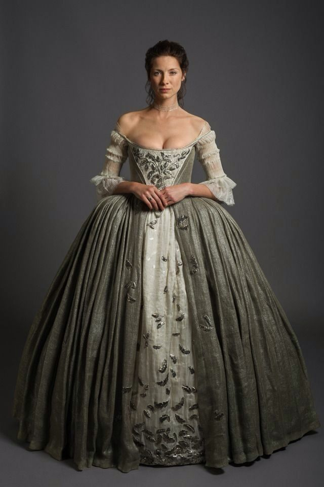 Outlander Claire Beauchamp Fraser Wedding Dress 2017
