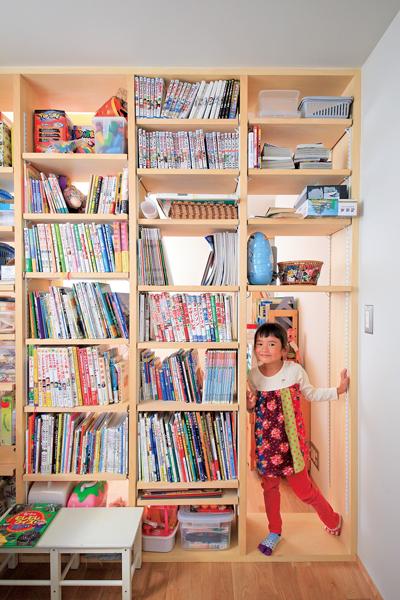 密集地でも 明るくてのびやかな家で暮らす 2020 子供部屋 本棚 子供部屋 間仕切り