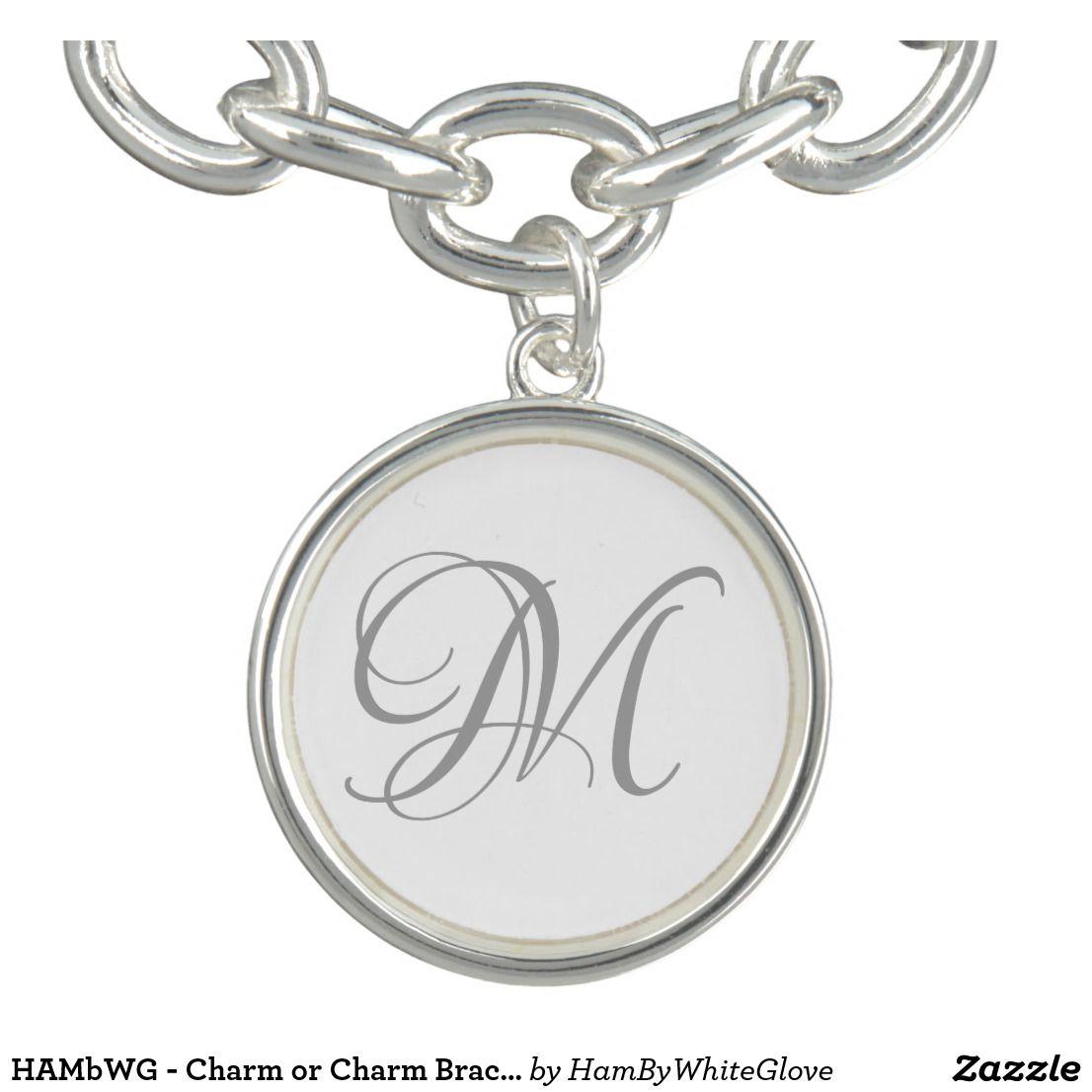 HAMbWG Charm or Charm Bracelet Stacked