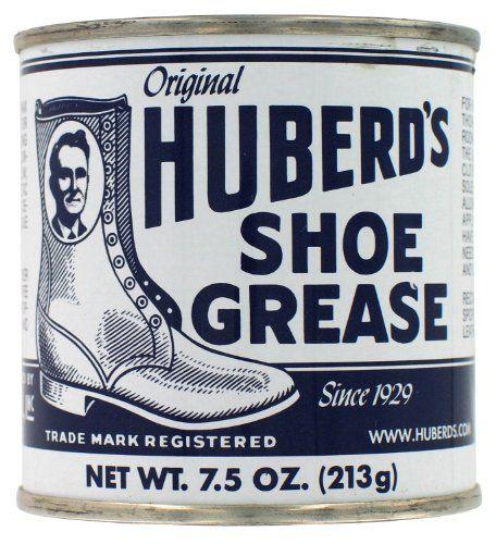 Huberd's Original Shoe Grease 7.5 Ounces Huberd's http://www.amazon.com/dp/B000MLBCWM/ref=cm_sw_r_pi_dp_WuDxwb0TS0QM9