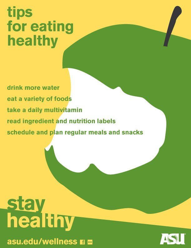Wellness Posters Stay Healthy Eat Etc
