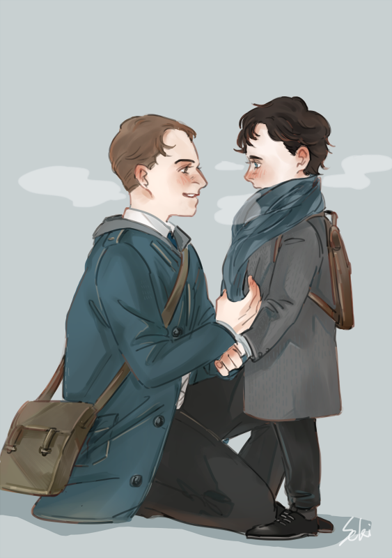 seki0930 mycroft amp sherlock art of the fan pinterest