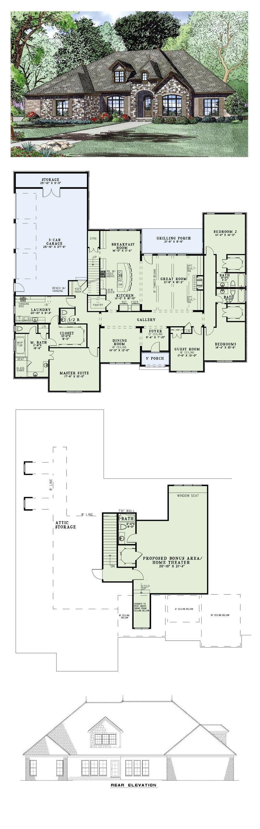 MY 1 pick European House Plan 82163