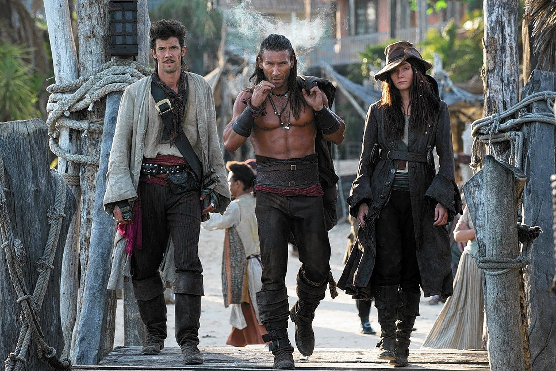 #Smiley360 #BlackSails #PiratesWanted ~Black Sails dangerous trio