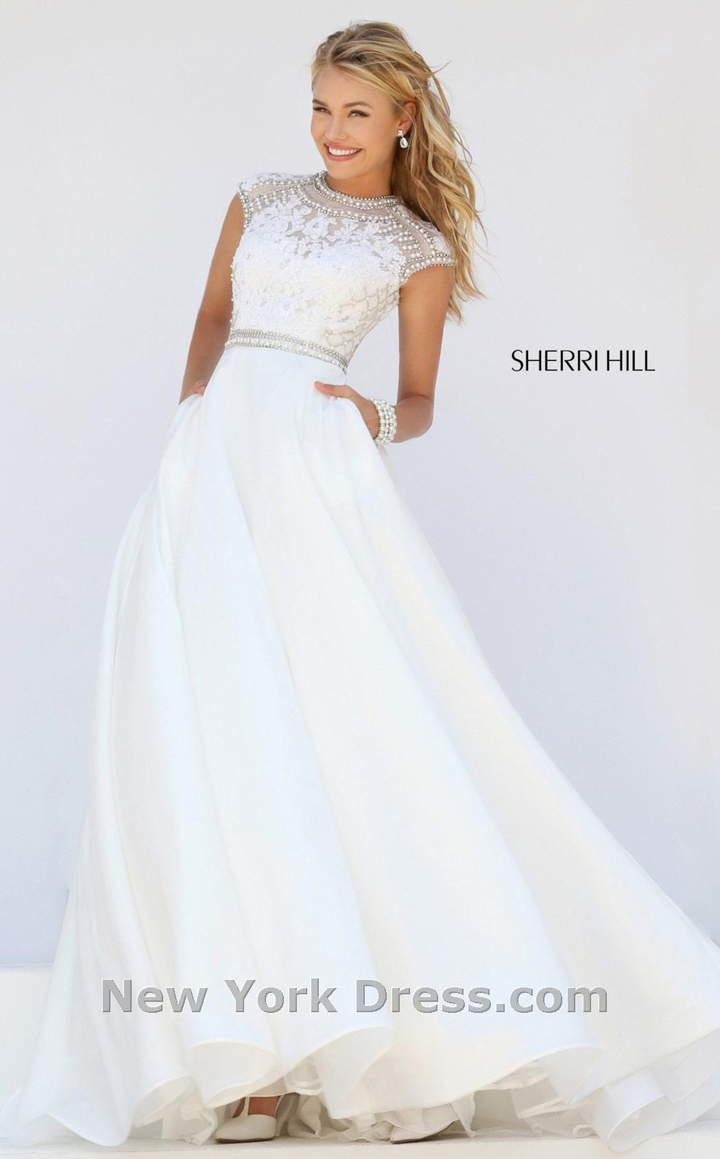 Sherri Hill 32363. Ivory Prom DressesElegant ...