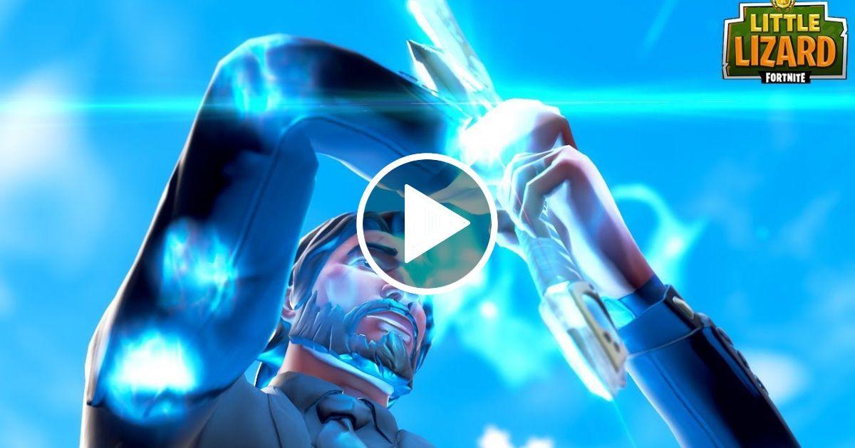 the infinity blade turns john wick evil fortnite short film - fortnite infinity blade images