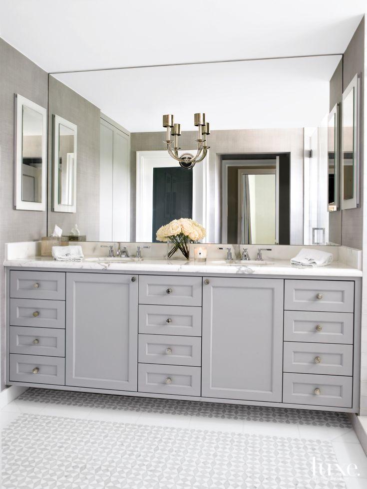 Top 10 Most Popular Luxe Bathrooms From 2015 Bathroom Mirror