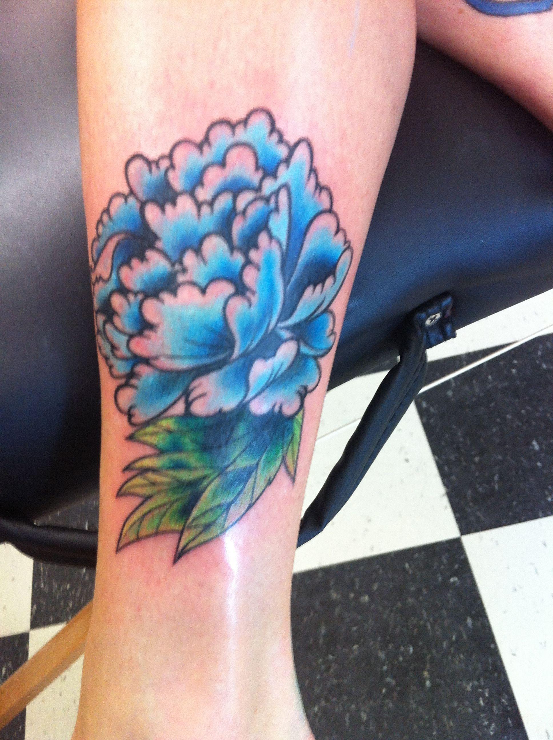 Bad Flower Tattoo : flower, tattoo, Peony, Tattoo, Cover-up, First, Tattoo., Tattoos,, Peonies, Tattoo,, Cover