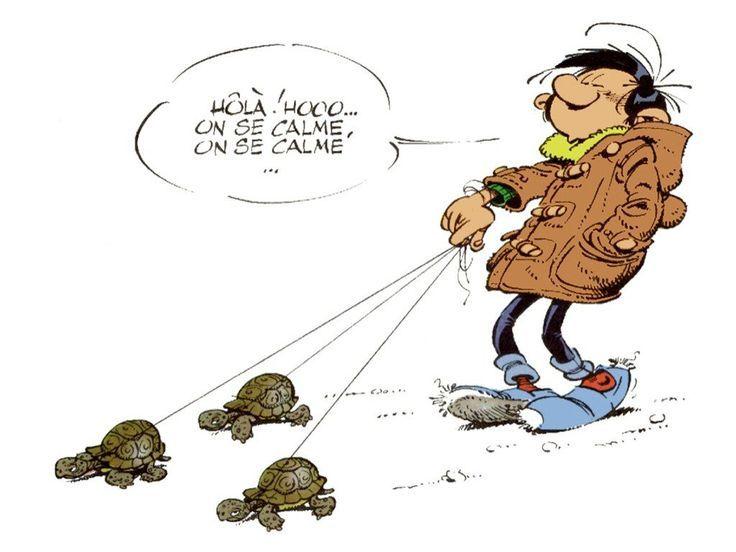 Gaston Lagaffe by Franquin: