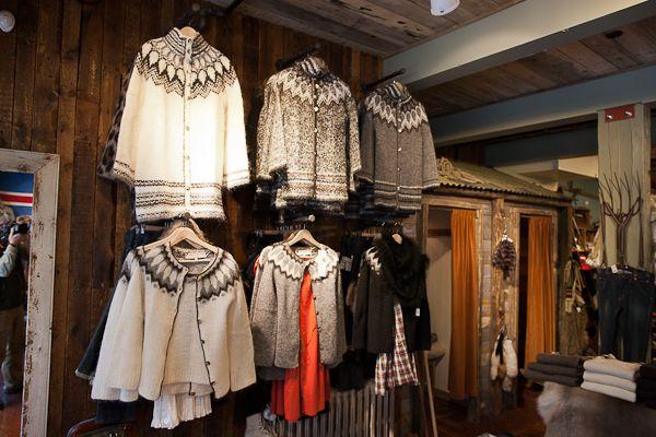 Farmers Market Iceland sweaters