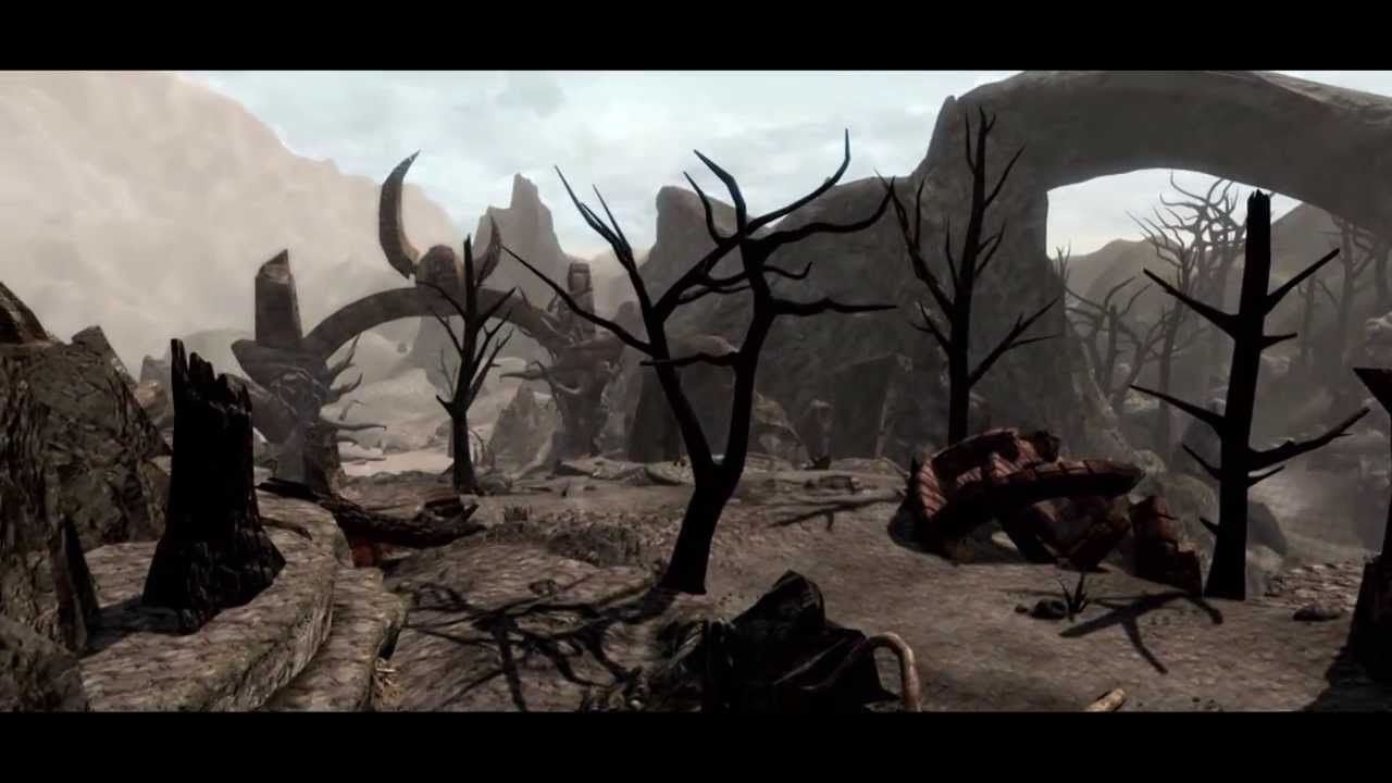 Skywind - Official Development Video #1- Modders Recreating TES III Morrowind in the Skyrim engine. Looks amazing