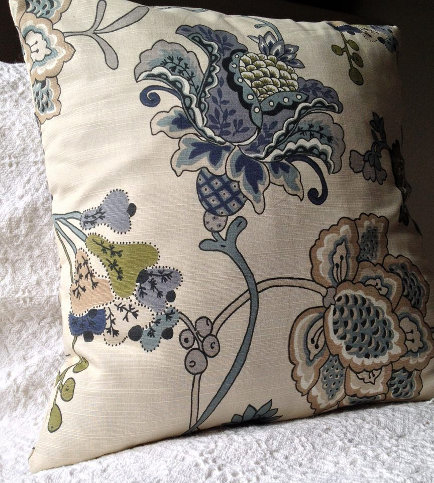 Just Finished Sewing This Easy Envelope Pillow Cover Using Cost Plus