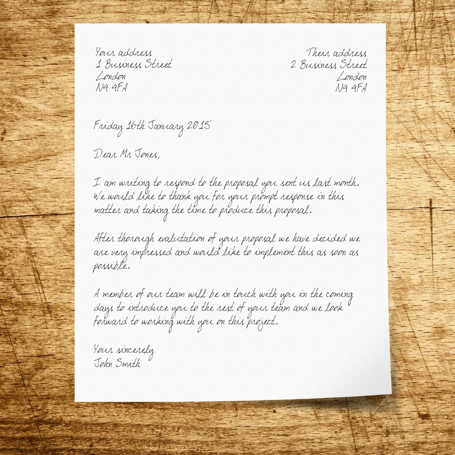 Writing A Business Letter How To Structure A Letter Envelope News
