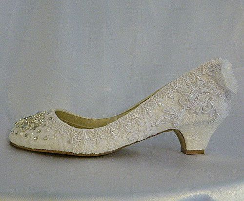 c2c7e1a2b9f popular items for lacey wedding shoes on etsy vintage wedding shoes low heel