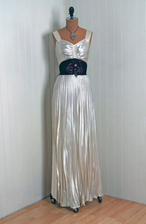 Dress, 1930s, Timeless Vixen Vintage