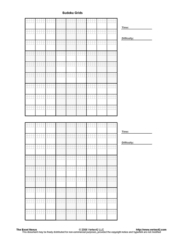 It's just an image of Printable Sudoku Pdf with overlapping