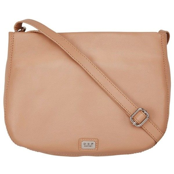O S P Osprey Deia Leather Across Body Bag Nut 125 Liked On Polyvore