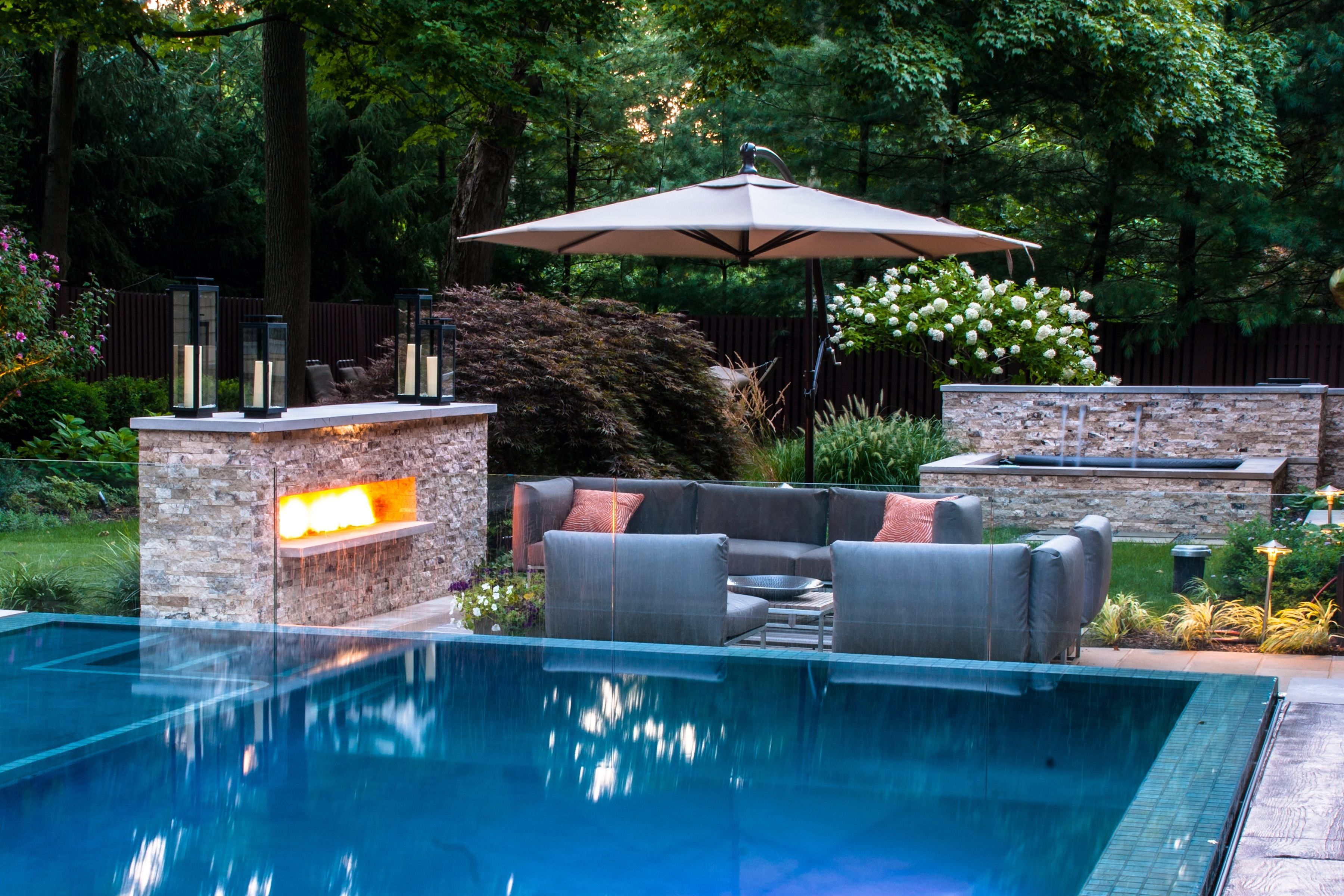 Ideas About Modern Landscape Design Pictures Garden With Pool Designs Back Yard Living Pinterest