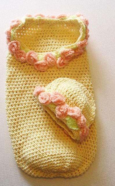 164 Baby Cocoon Set Pretty in Pink pattern by Sandy Powers | Kinder ...
