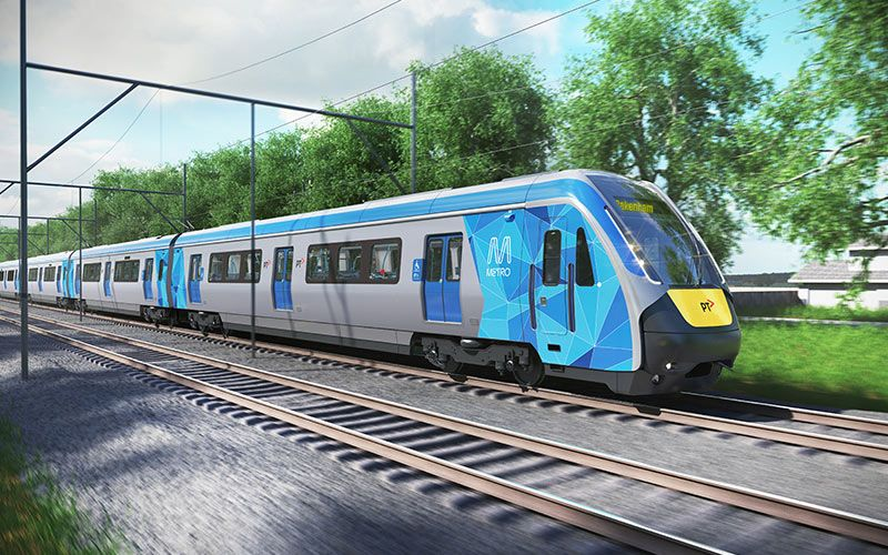 Evolution Rail preferred for Victoria's next-generation trains | Plenary Group