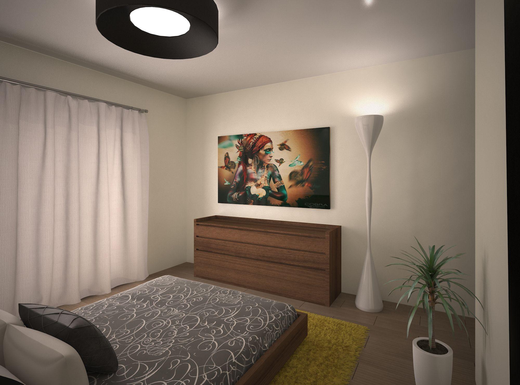 Proyecto de interiorismo enfocado en un dormitorio dise o - Proyecto diseno de interiores ...