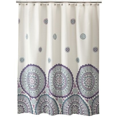 Ethnic Circles Shower Curtain