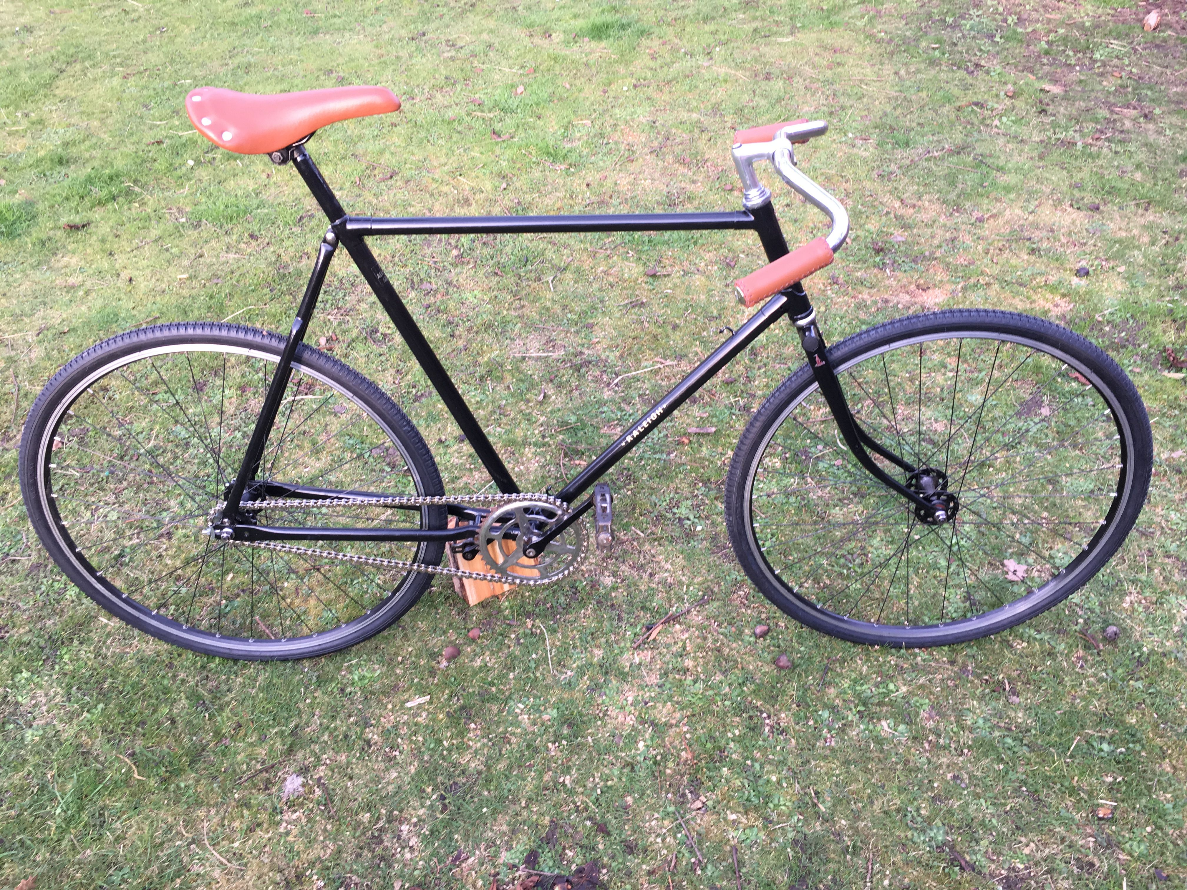 Vintage Path Racer. Retro rebuild/restore. Raleigh frame - Reynolds ...