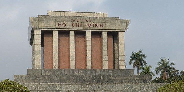 Ho Chi Minh Mausoleum, Hanoi, Northern Vietnam, Asia