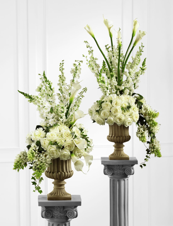 The FTD® Classic White™ Arrangement Large flower