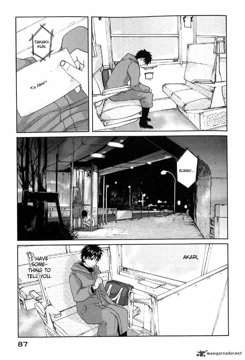 5 Centimeters per Second 2 Page 21 Manga, Anime, Shoujo
