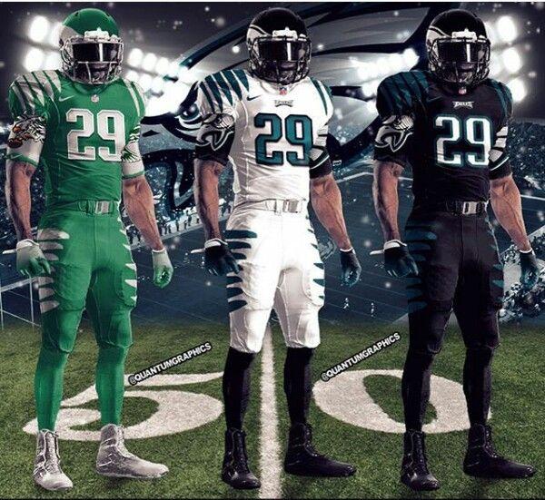 online store bb68f 653e8 Philadelphia Eagles Concept Uniforms | PHILADELPHIA EAGLES ...