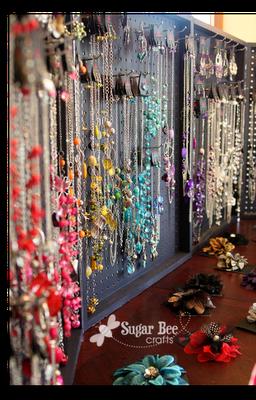 Diy Paparazzi Jewelry Peg Board Foldable Display Case Idea