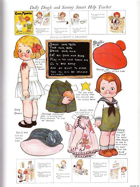 Paper Dolls~Adventures of Dolly Dingle - Bonnie Jones - Picasa Web Albums