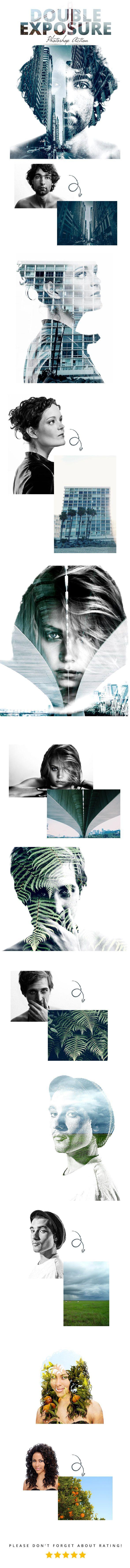 Double Exposure Action - Photo Effects Actions Like & Repin. Noelito Flow. Noel songs. follow my links http://www.instagram.com/noelitoflow