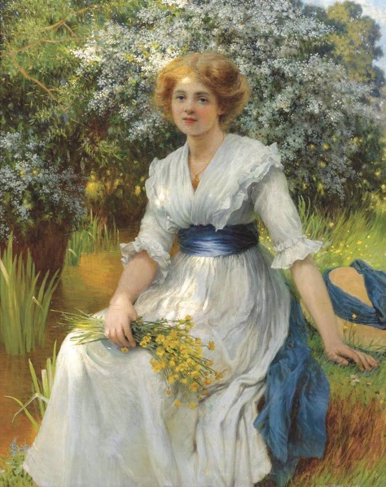Английский художник Уильям Савадж Купер - William Savage Cooper (English, 1880 - 1926)