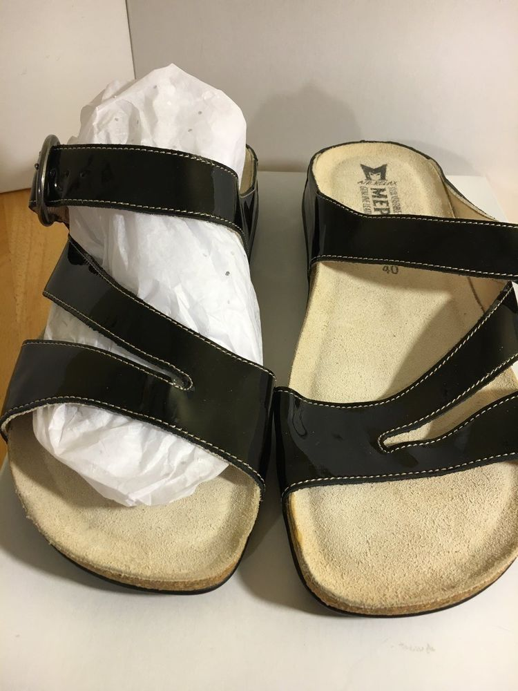 Made Relax Women MEPHISTO 40 Black Air Sandals Shoes Size Size 10 US WIEYH29D