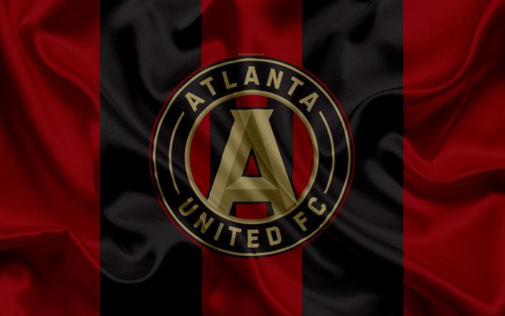 sale retailer 6c005 cf4f5 Download wallpapers Atlanta United FC, American Football ...