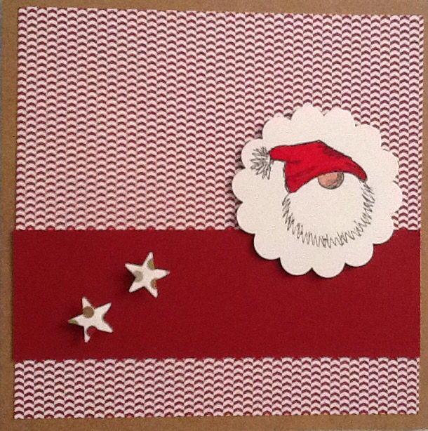 weihnachtsgr e auf schwedisch trolltomte weihnachtskarten stempel und stampin up weihnachten